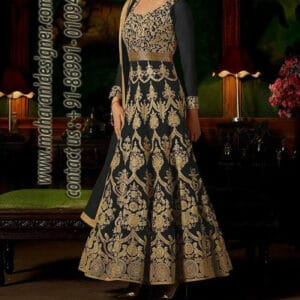 Designer long dresses 2018, designer long dresses 2017, designer long dresses indian, designer long dresses images, Maharani Designer Boutique, Designer Long Dresses Online.