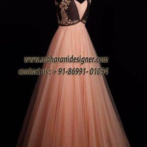 Designer long gowns in hyderabad, designer long gown images, designer long gowns in india, designer long gown cutting, designer long gowns online, Maharani Designer Boutique, Designer Long Gowns.