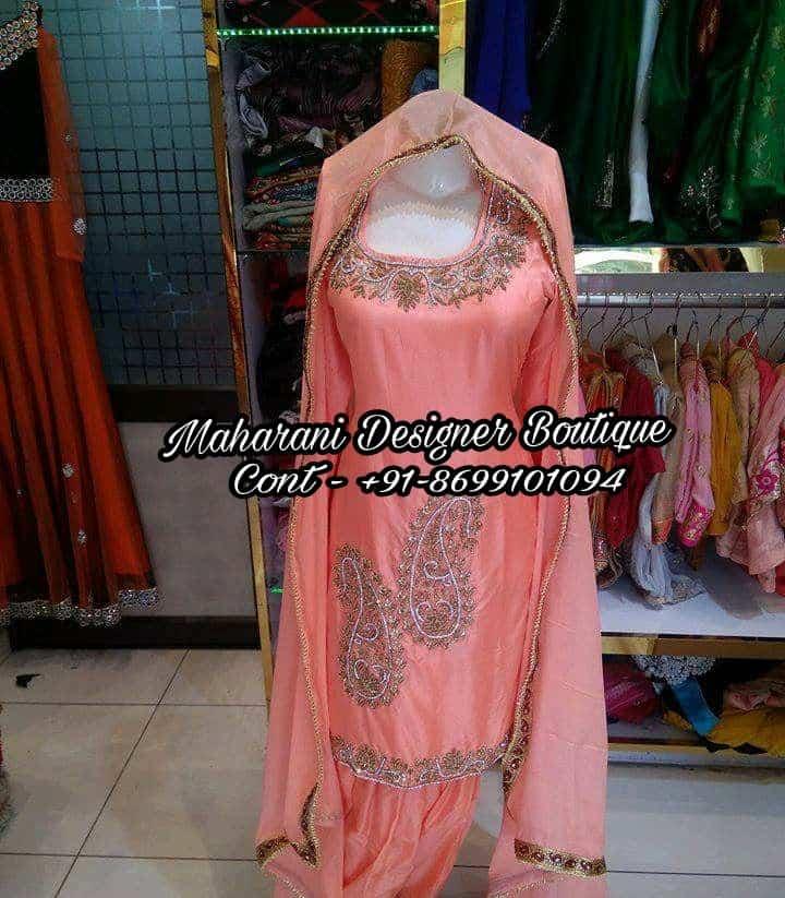 Designer Punjabi Suits Party Wear Maharani Designer Boutique,Simple Palm Tree Tattoo Designs