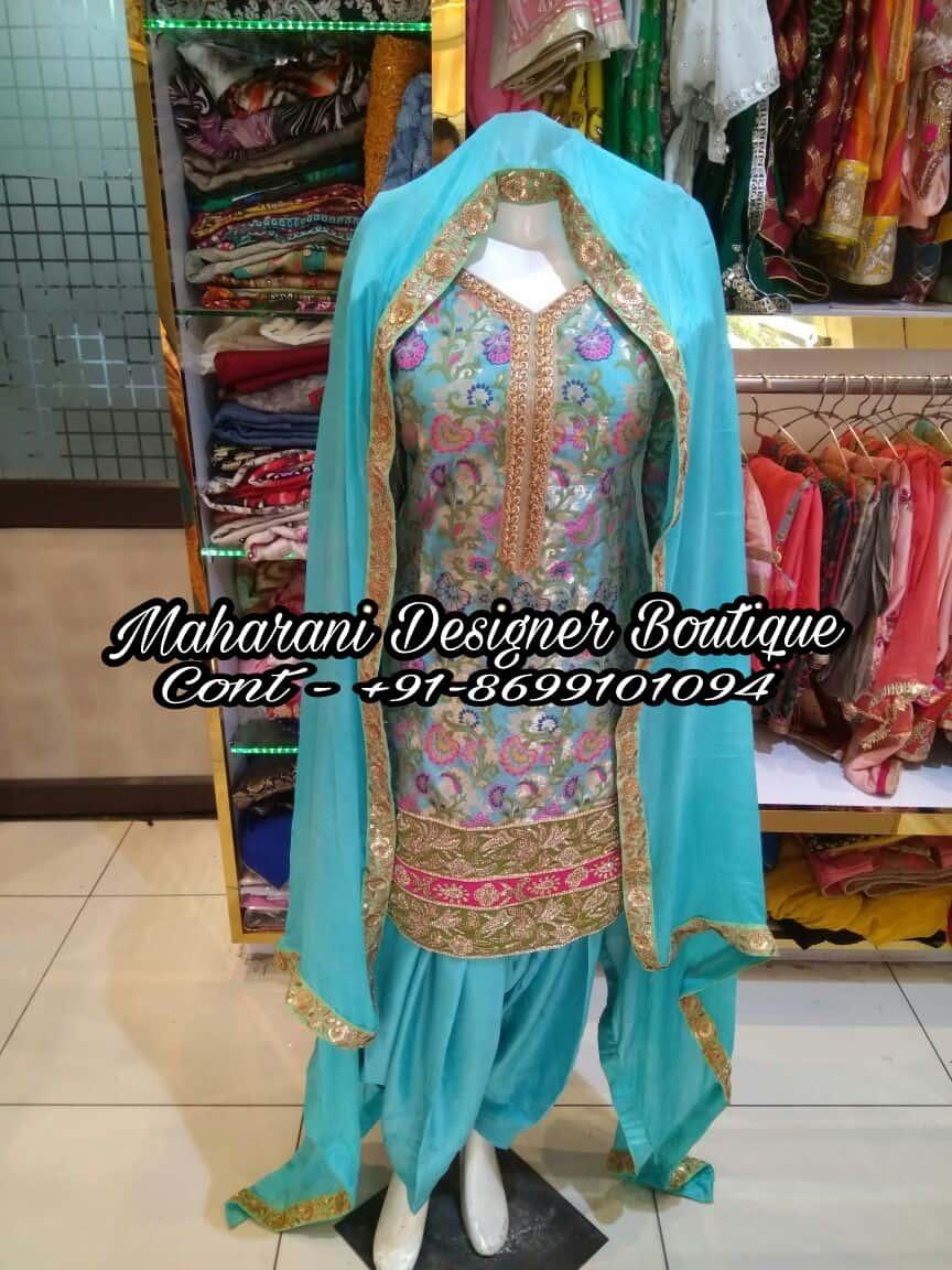 Punjabi Suit Design With Laces  f2cf6defc
