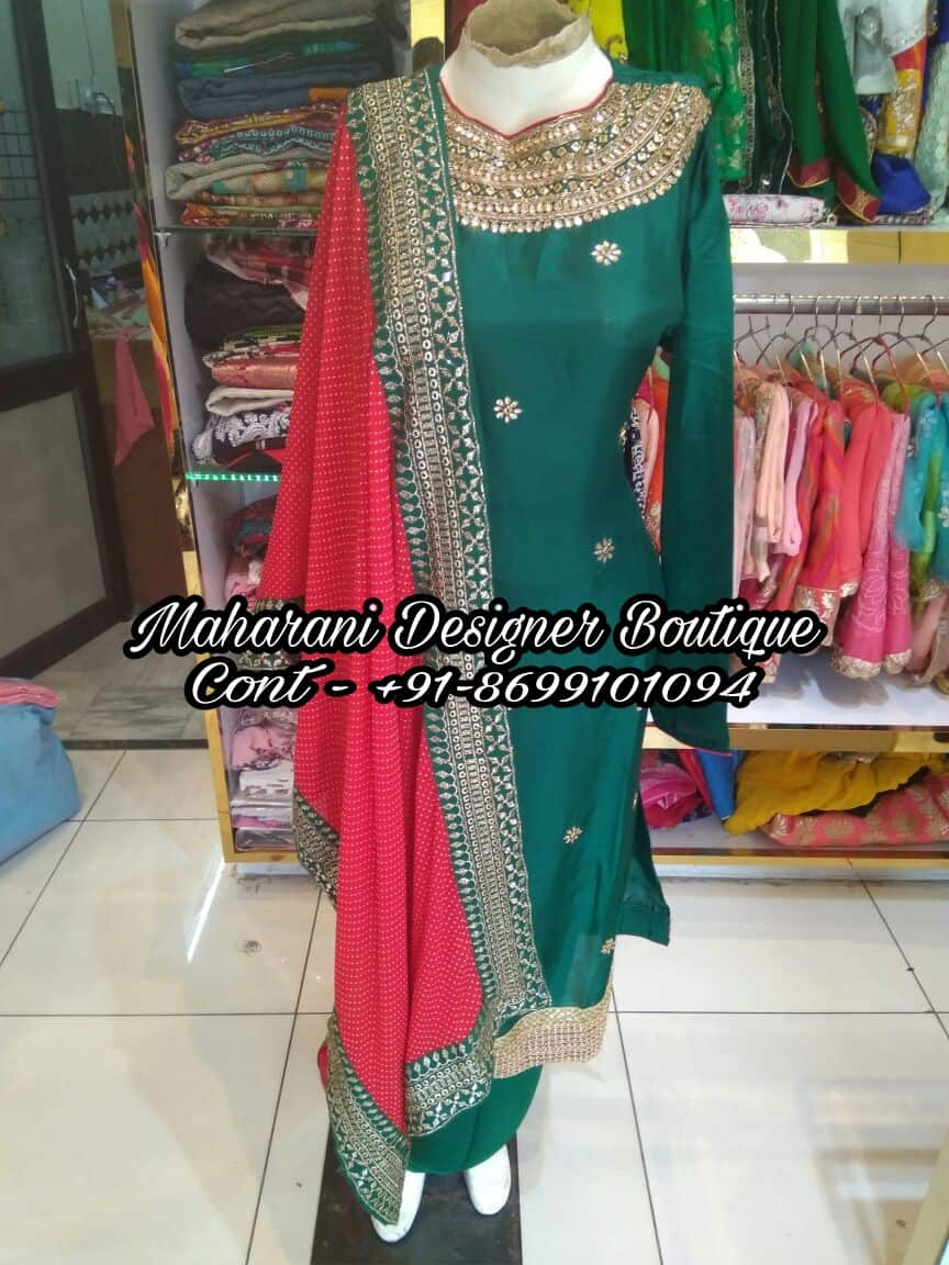 Punjabi Suit Embroidery Designs Maharani Designer Boutique