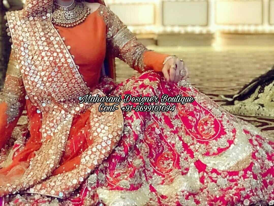 Buy Bridal Lehenga With Price Maharani Designer Boutique