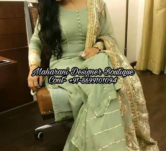 Designer Punjabi Suits Boutique In Ghaziabad | Maharani