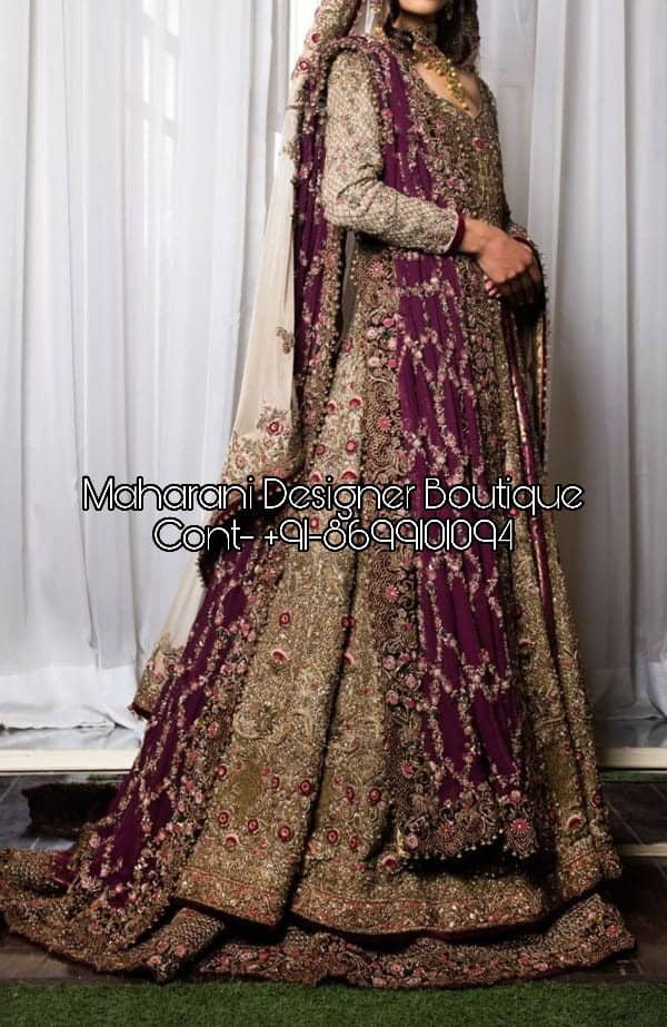 Buy Bridal Outfits Indian Maharani Designer Boutique