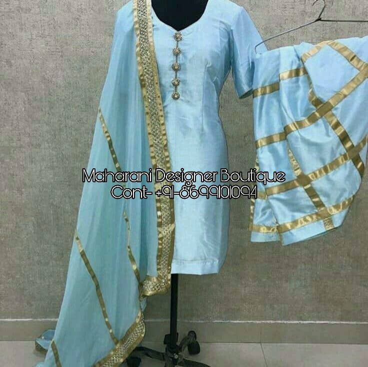 Salwar Suit Embroidery Designs Maharani Designer Boutique