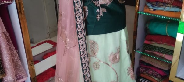 bridal lehengas on rent in jalandhar, party wear dresses on rent in jalandhar, lehenga on rent with price, bridal lehengas shops in jalandhar, Maharani Designer Boutique