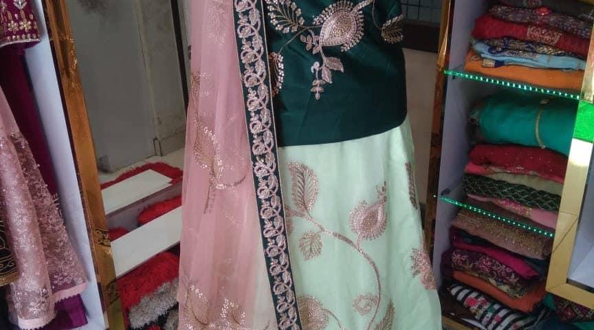 bridal lehengas on rent in jalandhar,party wear dresses on rent in jalandhar,lehenga on rentwith price,bridal lehengas shops in jalandhar, Maharani Designer Boutique
