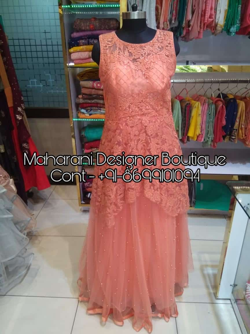 Evening Gowns For A Wedding Maharani Designer Boutique