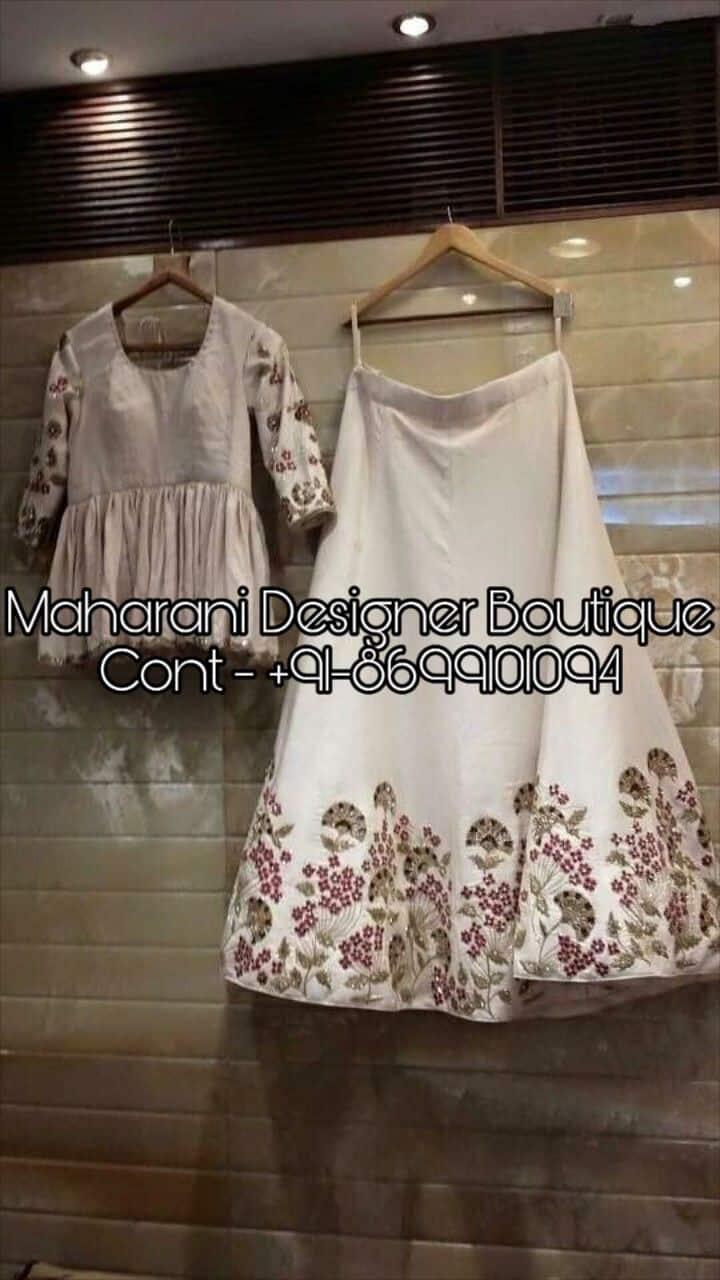 Lehenga Designs For Party Wear Maharani Designer Boutique