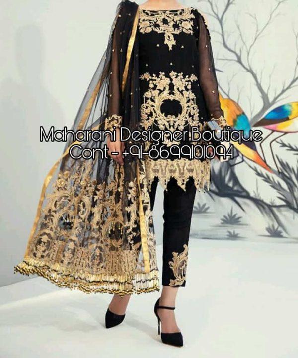 pant style suit images, pant style suit design, pant style salwar online, pakistani pant style suits, trouser salwar kameez suits, pant style salwar designs, salwar kameez with straight pants, stylish pant suits, Maharani Designer Boutique