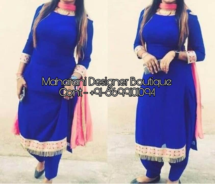 Punjabi Fashion Suit Boutique Patiala Maharani Designer Boutique