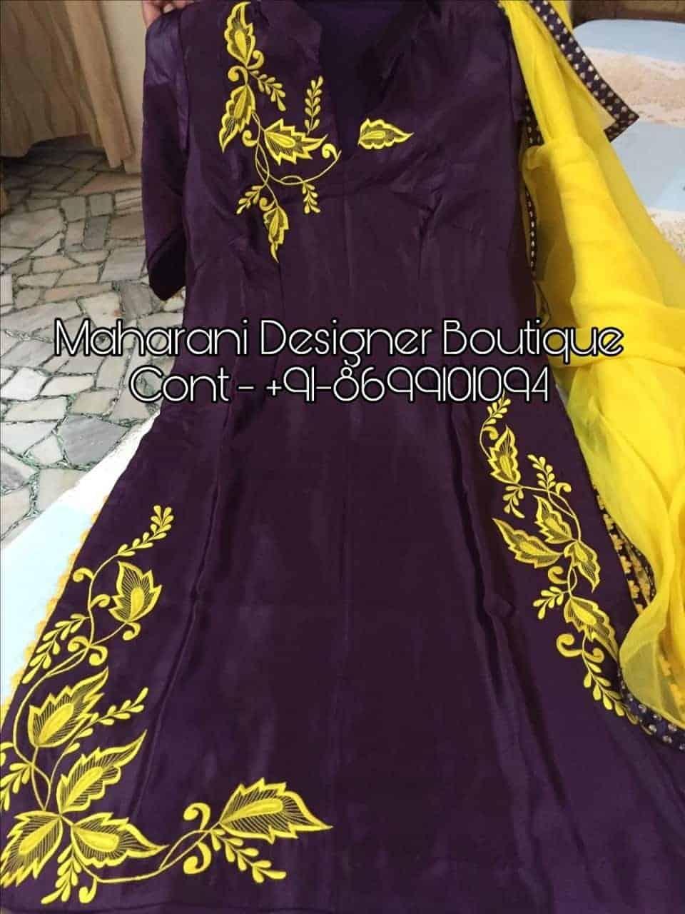 Designer Punjabi Suits Party Wear Boutique Maharani Designer Boutique