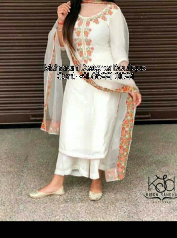 7687968338 Punjabi Designer Palazzo Suit, designer cotton palazzo suits, designer  palazzo suit, designer palazzo