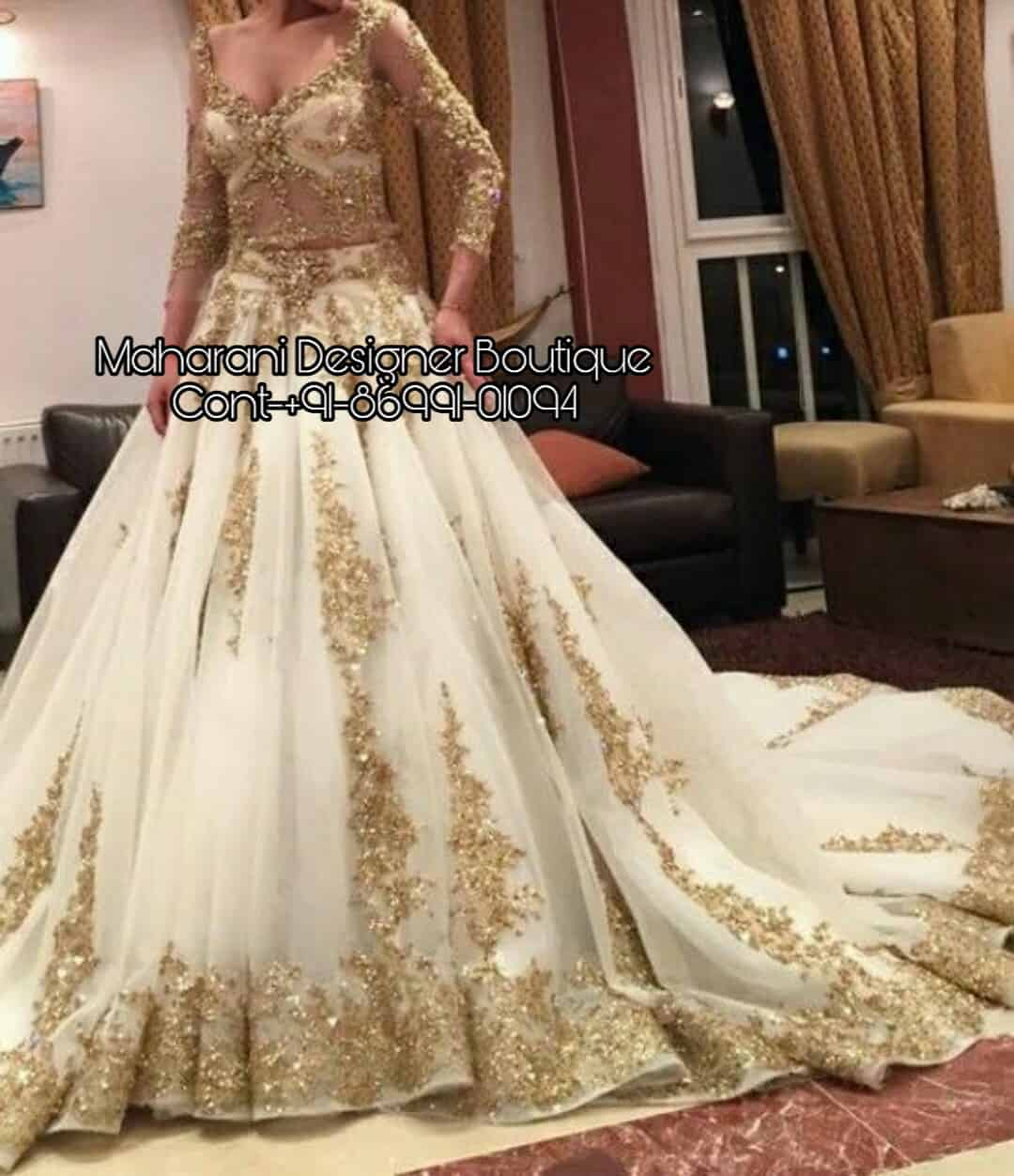 Wedding Dresses Online Shopping.Bridal Dresses Online Order Maharani Designer Boutique