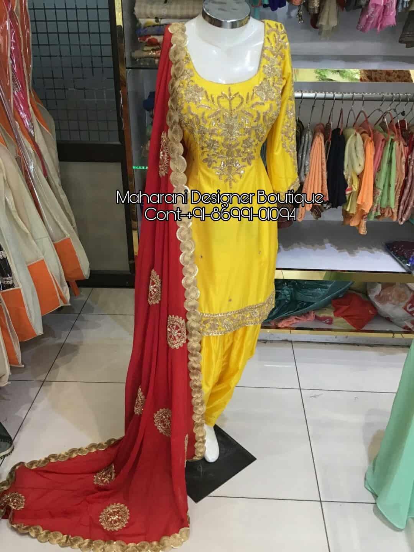 Punjabi Salwar Suits Jalandhar Maharani Designer Boutique