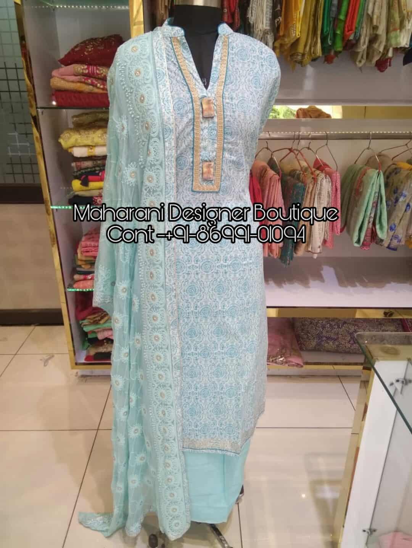 Punjabi Suits Hand Work Design Maharani Designer Boutique