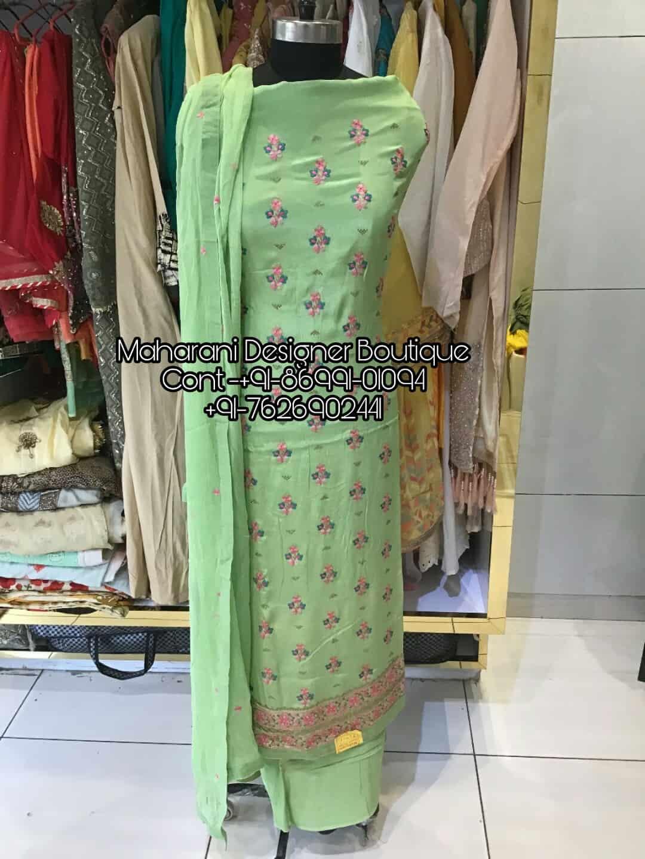 Designer Punjabi Suits Online Maharani Designer Boutique