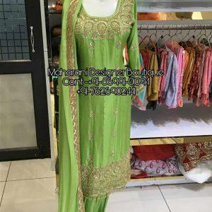 Heavy Dupatta Punjabi Suits Online | Maharani Designer Boutique