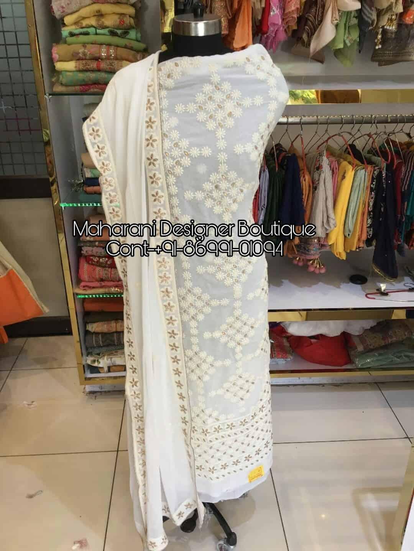 f4c8624751 Punjabi Salwar Suit Heavy | Maharani Designer Boutique