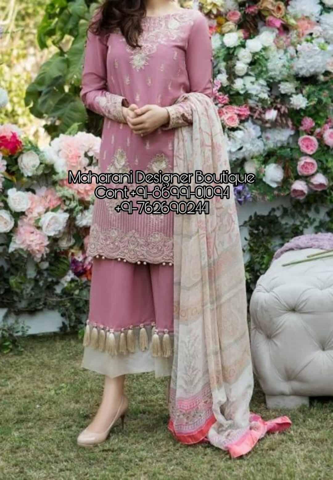 Designer Punjabi Suits Online Shopping Maharani Designer Boutique