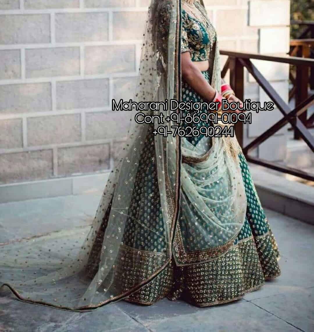 adef4802c6 Indian Bridal Lehenga Online India | Maharani Designer Boutique