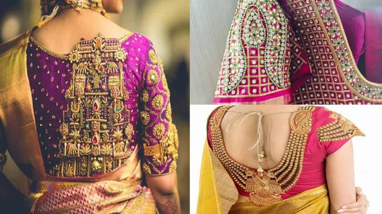 girls read - fashion: blouse ke gale ka new design