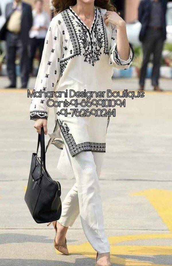 Pakistani Pant Style Suits, pakistani pant style suits images, pakistani pant style churidar suit, pakistani pant style suits, pakistani trouser suits latest, ladies pant suit designs, kurta pant design for girl, Maharani Designer Boutique