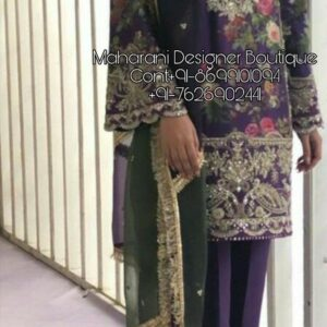 Ladies Trouser suits For Parties | Maharani Designer Boutique