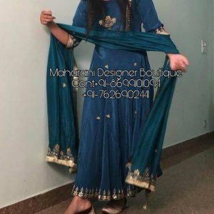 Cotton Frock Suit For Ladies | Maharani Designer Boutique