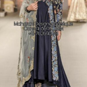 Designer Frock Suits For Wedding | Maharani Designer Boutique