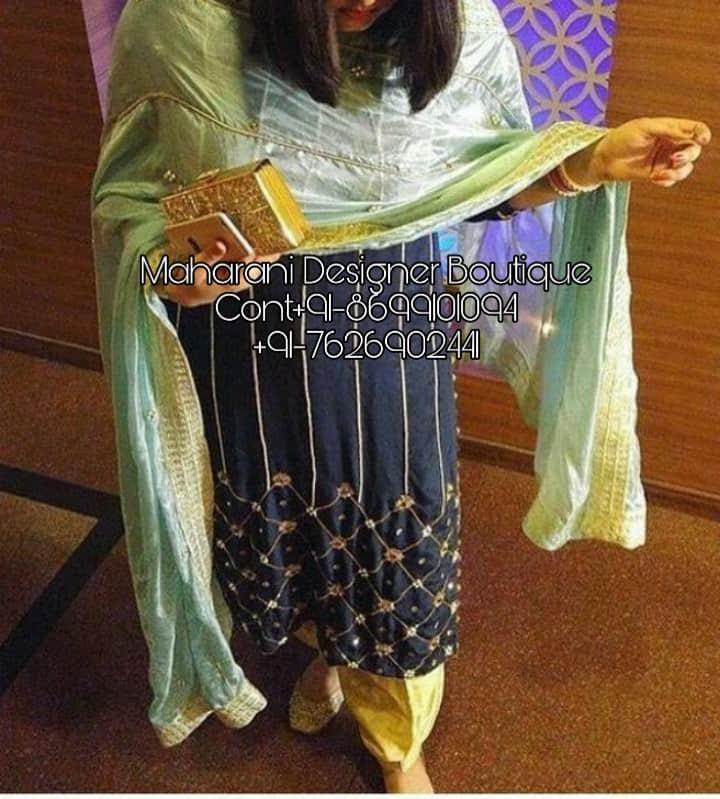Latest Punjabi Suit Design Photos Maharani Designer Boutique