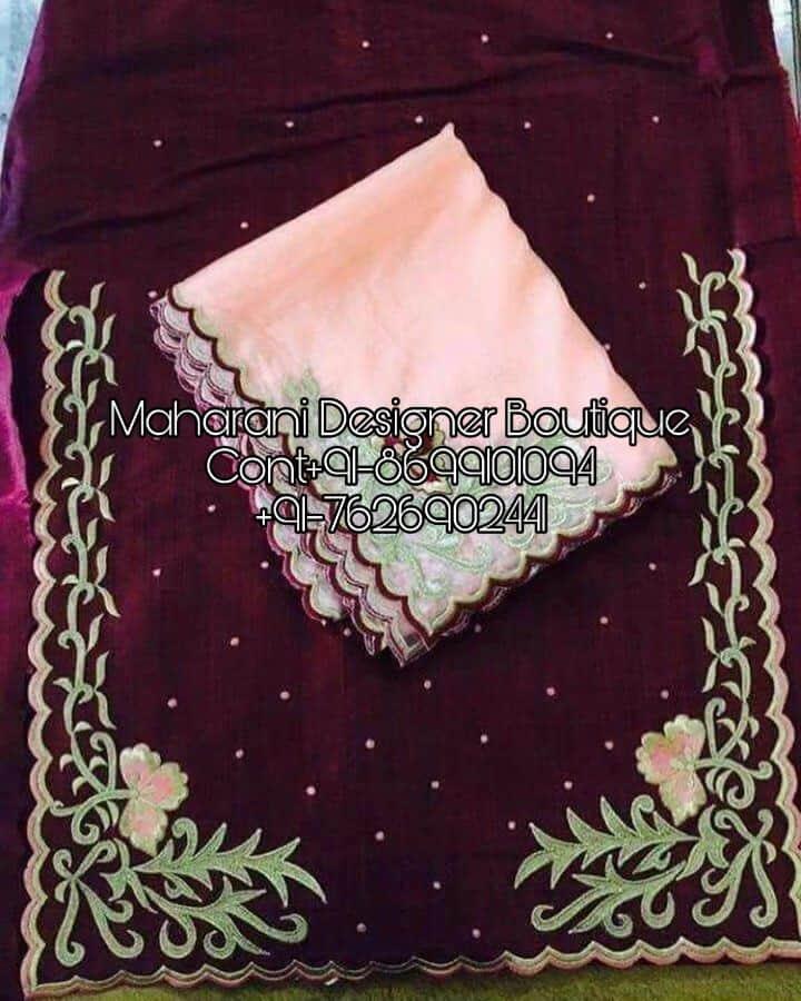 New Style Of Punjabi Suits Maharani Designer Boutique