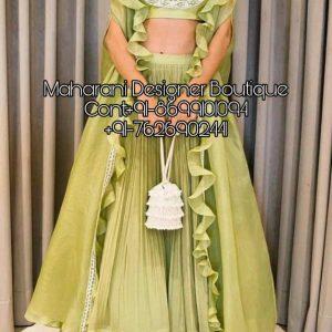 Party Wear Lehenga Choli Design | Maharani Designer Boutique