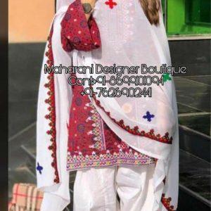 Designer Punjabi Suits Images | Maharani Designer Boutique