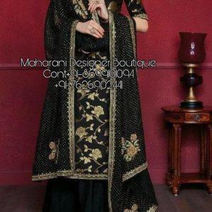 Plazo Suit Party Wear Maharani Designer Boutique