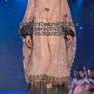 Designer Palazzo Suits | Maharani Designer Boutique