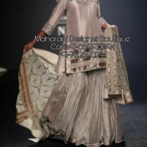 Designer Sharara Suit   Maharani Designer Boutique