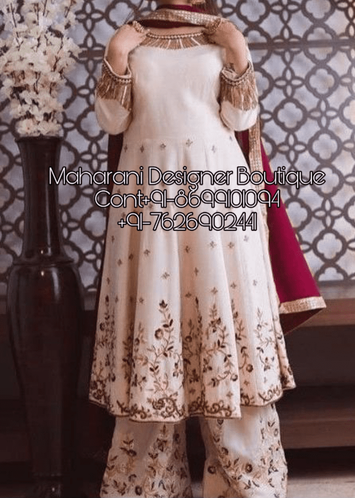 New Punjabi Suit Stitching Style Maharani Designer Boutique