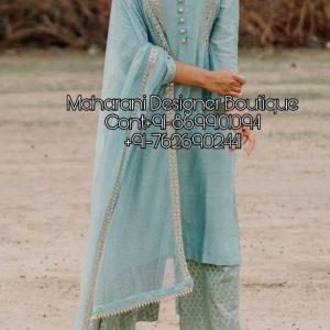 Plazo Suit Design Party Wear, Maharani Designer Boutique