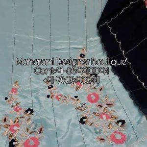 Punjabi Suit With Designer Dupatta | Maharani Designer Boutique