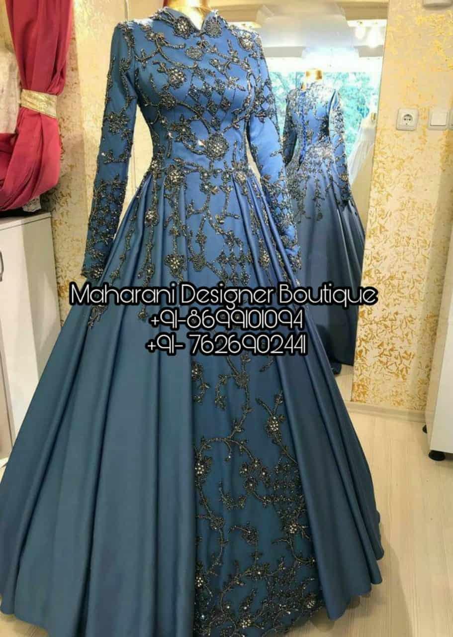 designer long gown dress