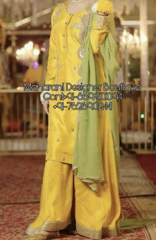 Salwar Suits With Palazzo Pants, buy palazzo suit online india, palazzo suit sets online india, designer palazzo suits online india, palazzo suit online shopping india, palazzo indian suit uk, Maharani Designer Boutique