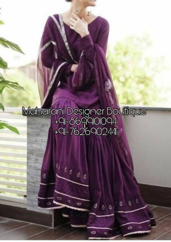 Buy latest collection of Punjabi Suit Online Shopping, Maharani Designer Boutique. Punjabi Suit Designs Online in India at best price.