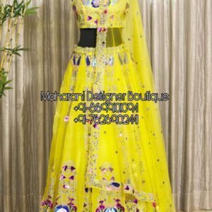 Choose from the fresh collection of Lehenga Boutique Hyderabad, Maharani Designer Boutique at best price.Shop for lehenga choli, wedding various fabric.