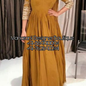 Buy Punjabi Suit for various ocassions in India. Shop from the latest collection of New Trend Punjabi Suit Boutique Patiala , Maharani Designer Boutique .