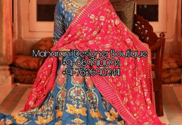 Latest collection of Punjabi Boutique Online Shopping, Maharani Designer Boutique and patiala suits. Buy Boutique Suits Collection Online.