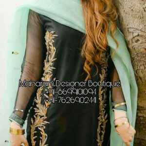 Buy Punjabi Boutique Salwar Suit, Maharani Designer Boutique for various ocassions in India. Shop from the latest collection of Punjabi Suits.
