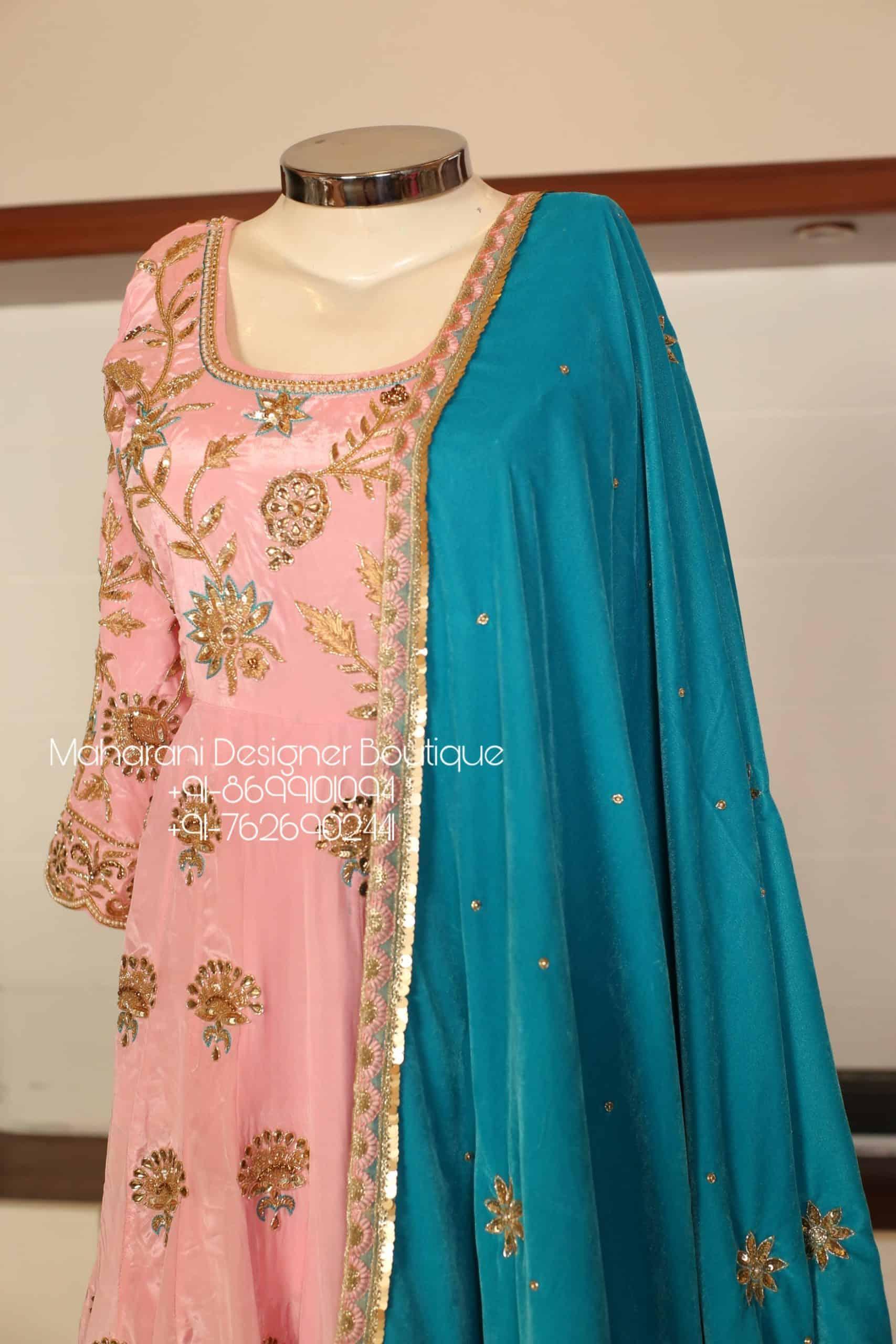 Embroidered Salwar Suits Online Maharani Designer Boutique