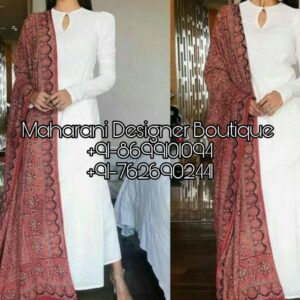 Buy Punjabi Suits Boutique Amritsar, Maharani Designer Boutique for various ocassions. Shop from the latest collection of Punjabi Suits for women