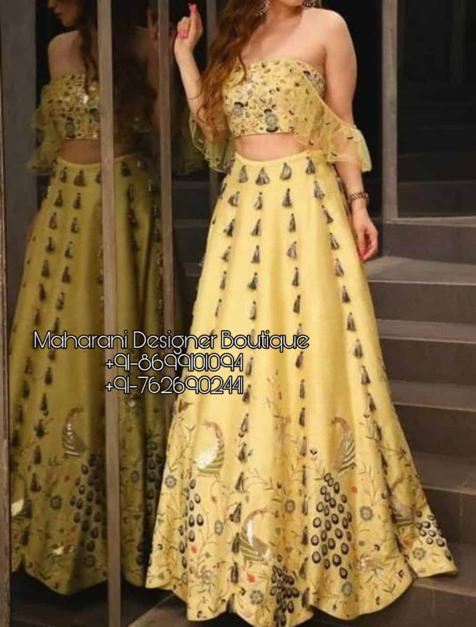 Designer Lehenga For Girls Maharani Designer Boutique